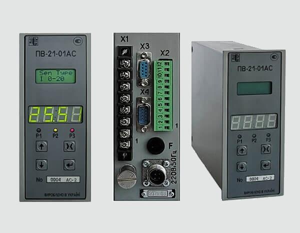 (Українська) Перетворювач вимірювальний типу ПВ-21АС