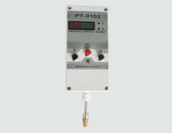 РЕГУЛЯТОРЫ-ИЗМЕРИТЕЛИ РТ-0102С (настенный вариант, автономное питание от батареи «Крона»)